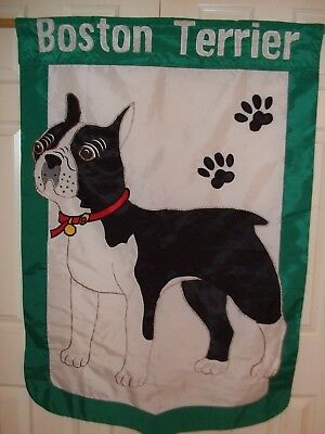 Boston Terrier Flag Huge High Quality