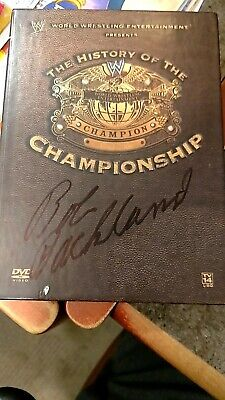 WWE: Ricky Steamboat: Life Story of the Dragon (DVD, 2010) - Bob Orton autograph