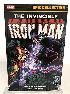 Iron Man Epic Collection Enemy Within #158-177 Marvel Comics New Paperback TPB