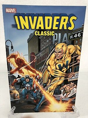 Invaders Classic Volume 4 Collects #35-41 Marvel Comics New Trade Paperback TPB