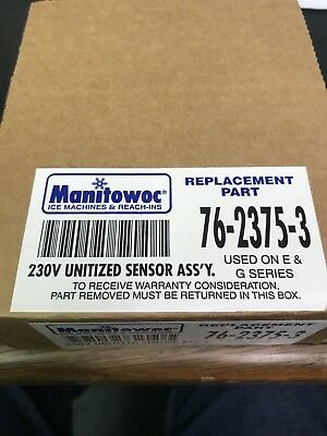 MANITOWOC 76-2375-3 230V UNITIZED SENSOR ASSEMBLY ICE SENSOR 1059 new!
