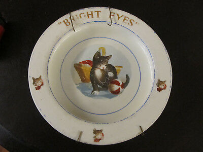 "Vintage ELPCO China USA Baby's Plate ""Bright Eyes"""