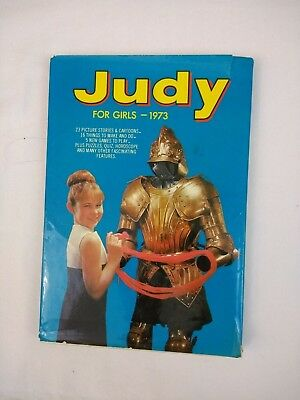 Judy For Girls Annual 1973 Unclipped Teenager Retro