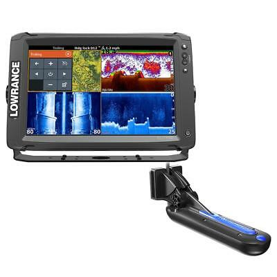 Lowrance Elite-12 Ti Chartplotter-fishfinder with TotalScan Transom Mount Transd