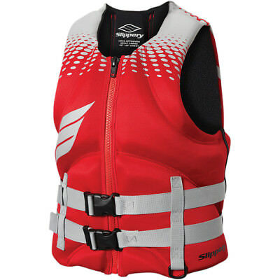 Slippery Surge Neo Vest Red/Silver