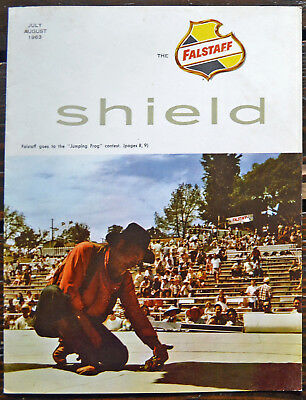 """Falstaff Brewing """"The Shield"""",  Company Newsletter,  July-August 1965"""