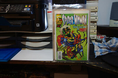 Spider-woman #1 Signed Edition NM First Print (1999)