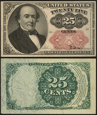 Twenty Five Cents Fractional Currancy Note, Series of 1874