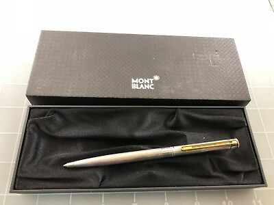 Judd's Very Nice Montblanc Noblesse Silver Ballpoint Pen in Box