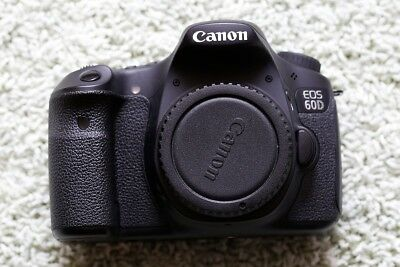 Canon 60D body only, digital 18MP camera, used in great condition