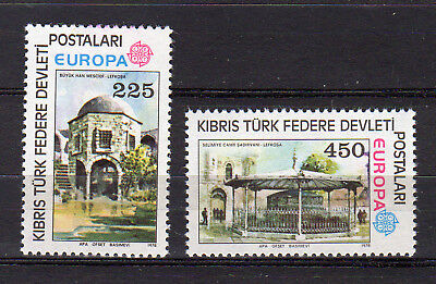 CYPRUS OCCUPIED (TURKISH) 1978 EUROPA CEPT (Architecture) MNH - FREE SHIPPING