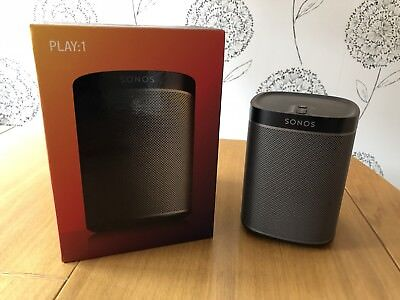 Sonos Play 1 Black - Excellent condition