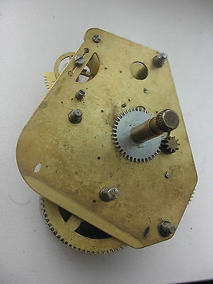 Vintage mechanical clock movement
