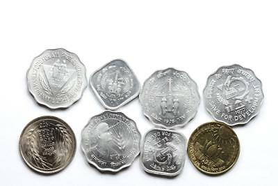 FAO / F.A.O. India  - lot of 8 coins - uncirculated
