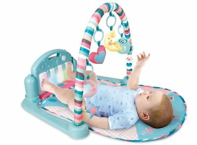 Multifunction Baby Play Gym Activity Mat with Piano and Cute Toys by Babyhugs