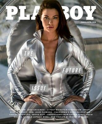 Playboy Magazine ~ March/april 2018 ~ The Future Issue
