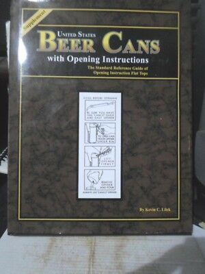 United States Beer Cans With O/i`s Supplement Beer Can Book -Excellent Condition