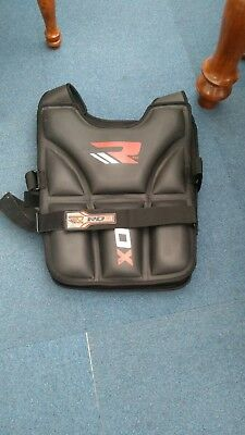 Rdx 20Kg Weighted Vest Boxing Fitness Weight Training Collect Hu7 0Dy Rrp £65