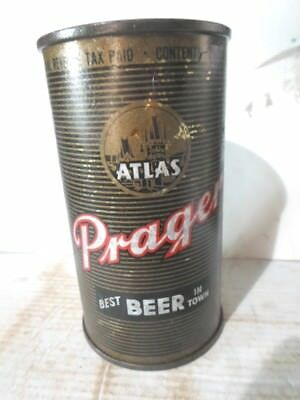 "1948 Atlas Prager -""""chicago Illinois""""- Flat Top Beer Can"