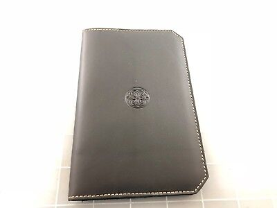 Judd's Excellent Black Leather Franklin Christoph 4x6 Note Pad Holder