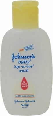 Johnsons Baby Top-to-Toe Wash (50 ml)Safe And Healthy Bath For Baby