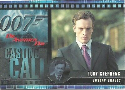2002 James Bond OO7 007 Die Another Day Casting Call chase card #C3
