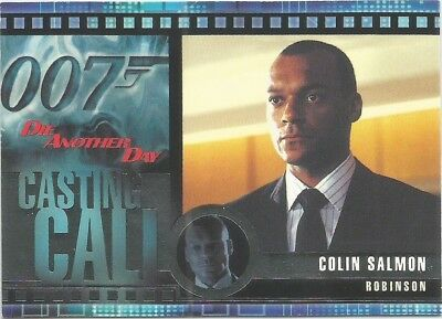 2002 James Bond OO7 007 Die Another Day Casting Call chase card #C11