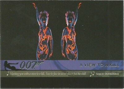 2004 Quotable James Bond OO7 007 Theme Songs chase insert card # T2