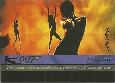 2004 Quotable James Bond OO7 007 Theme Songs chase insert card # T5