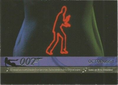 2004 Quotable James Bond OO7 007 Theme Songs chase insert card # T7