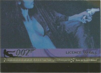 2004 Quotable James Bond OO7 007 Theme Songs chase insert card # T8