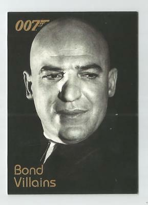 2004 Quotable James Bond OO7 007 Villains chase card # F6 Blofeld