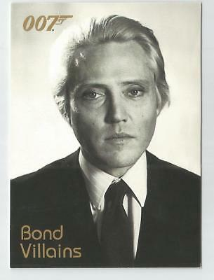 2004 Quotable James Bond OO7 007 Villains chase card # F14 Max Zorin