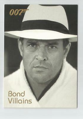 2004 Quotable James Bond OO7 007 Villains chase card # F15 General Koskov