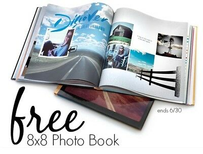 Shutterfly Code for 8 X 8 Photo Book - Expires 6/30/18