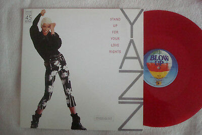 "Yazz - Rotes Vinyl - Stand Up For Your Love Rights - Erstauflage - 12"" Maxi !!!"