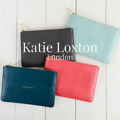 Katie Loxton London Perfect Pouch Bag Varied Colours Gift Bag & Tag