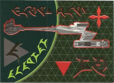 Star Trek The Next Generation Season 3 Klingon chase card #S15