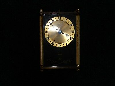 "Vintage 1950's Le Coultre 3 3/4"" Musical Alarm Clock-For Parts Or Repair-LOOK!"