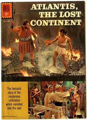 Four Color #1188 FN- 5.5  Atlantis, the Lost Continent  Photo Cover  Dell  1961