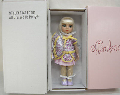 "All Dressed Up Patsy Tonner 10"" Child Doll Nrfb Effanbee*bending Elbows & Wrists"