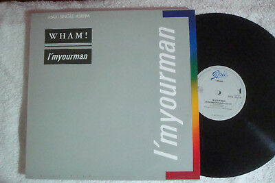 "Wham - I'm Your Man - Extended - 12"" Maxi !!!"