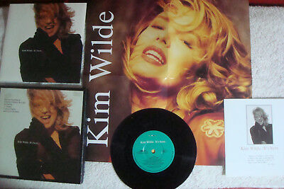 """Kim Wilde - It's Here - Special Numbered Limited Edition 7"""" Single - Poster"""