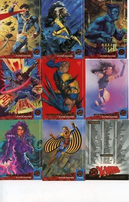 Marvel  X-Men 1994 Fleer Ultra 150 Base Card Set
