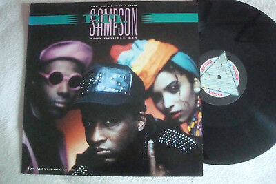 "P.m.sampson - We Love To Love - 12"" Maxi !!!"