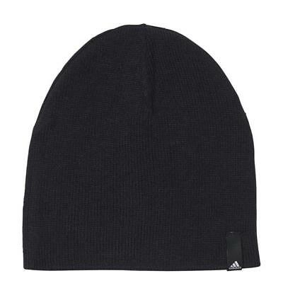5ce2069a Adidas Performance Beanie Black Athletic Hat Skull Cap One Size Fits Most  AB0354