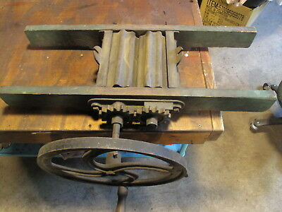 Antique Manual Fruit Crusher for-Apples-Pears-Grapes-wine Bernarducci Brothers