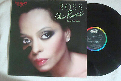 "Diana Ross - Chain Reaction - Special Dance Mix - 12"" Maxi !!!"