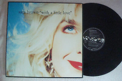 "Sam Brown - With A Little Love - 12"" Maxi !!!"