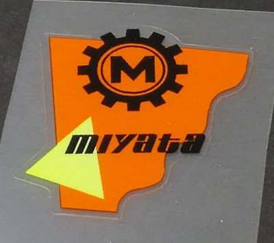 Koga-Miyata Head Badge Decal sku Miya701